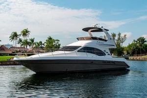 44' Sea Ray Cruiser 2006 44 Sundancer_Bow Profile6
