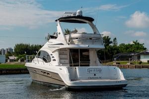 44' Sea Ray Cruiser 2006 44 Sundancer_Stern Profile3   Copy