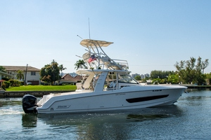 42' Boston Whaler 420 Outrage 2016 420 Outrage_Stern Profile1