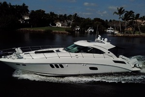 54' Sea Ray Sundancer 2012 2012 Sea Ray 540 Sundancer on the intracoastal