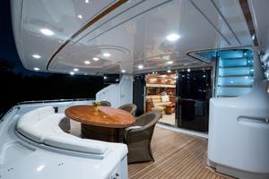 94' Custom Line Ferretti Custom Line Motoryacht 2001 Lady Breanna_aft_deck_3