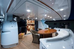 94' Custom Line Ferretti Custom Line Motoryacht 2001 Lady Breanna_aft_deck_4