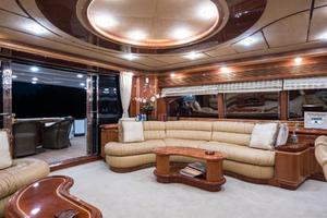 94' Custom Line Ferretti Custom Line Motoryacht 2001 Lady Breanna_salon_6