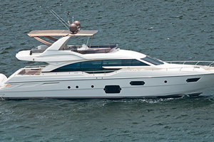 Blue Abalone is a Ferretti Yachts 690 Yacht For Sale in Cancun--2