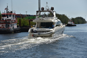 Blue Abalone is a Ferretti Yachts 690 Yacht For Sale in Cancun--28