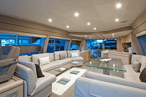 Blue Abalone is a Ferretti Yachts 690 Yacht For Sale in Cancun--22