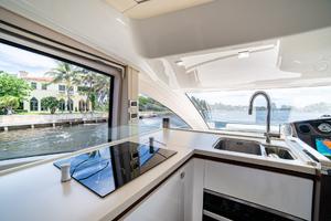 60' Cranchi Motor Yacht 2016 Galley
