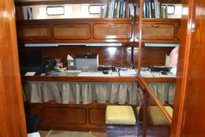 49' Gulfstar Motor Yacht 1987 Guest Stateroom or Office