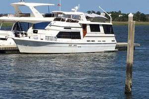 49' Gulfstar Motor Yacht 1987 Main - Profile