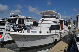 49' Gulfstar Motor Yacht 1987 Port Bow