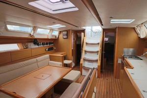 44' Jeanneau Sun Odyssey 44i 2010 Salon View From Master