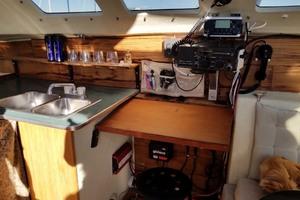 43' Farrier 44 SC 2014 Sink And Nav Station