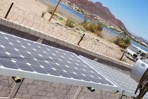 43' Farrier 44 SC 2014 Solar Panel