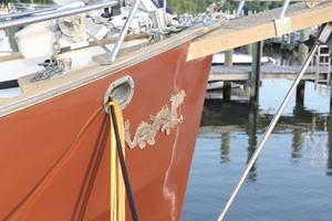 42' Chien Hwa Krogen 42 1982 Bow Detail