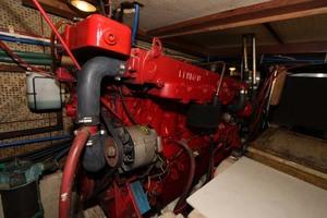 42' Chien Hwa Krogen 42 1982 Starboard Engine