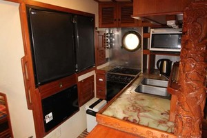 42' Chien Hwa Krogen 42 1982 Galley with Countertop Extension