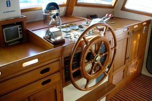 42' Chien Hwa Krogen 42 1982 Pilothouse Helm