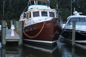 42' Chien Hwa Krogen 42 1982 Starboard Bow At Sunrise