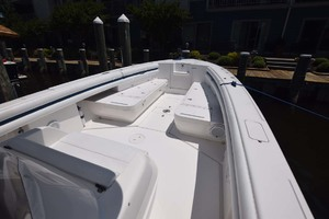 37' Intrepid 370 Open 2009 Bow Seating And Storage