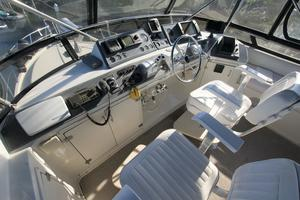 45' Californian 45 Motor Yacht 1990 helm to starboard