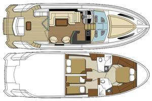 50' Marquis  500 Sport Coupe 2009 Layout
