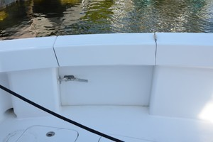 54' Hatteras Convertible 2003 Transom Door
