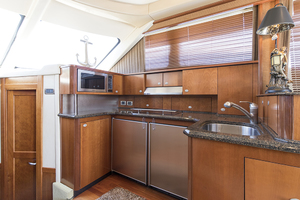 52' Sea Ray 500 Sedan Bridge 2005 Galley