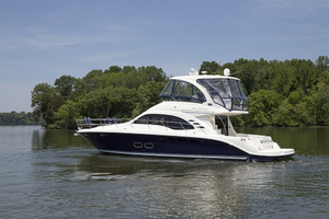 52' Sea Ray 500 Sedan Bridge 2005 Port profile 2