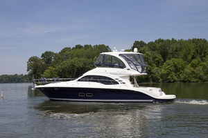 52' Sea Ray 500 Sedan Bridge 2005 Port profile