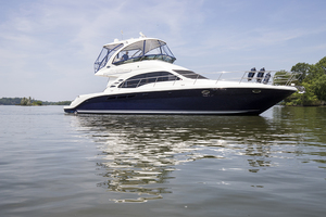 52' Sea Ray 500 Sedan Bridge 2005 STBD profile 4