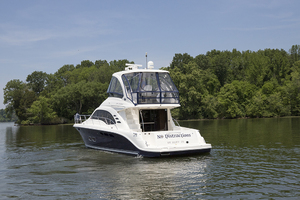 52' Sea Ray 500 Sedan Bridge 2005 Port quarter profile