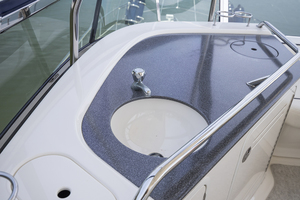 52' Sea Ray 500 Sedan Bridge 2005 Sink at the bridge