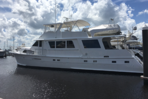 72' Hatteras Motor Yacht 1979 Painted Life