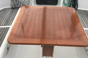 46' Beneteau America  2003 Cockpit Teak Table