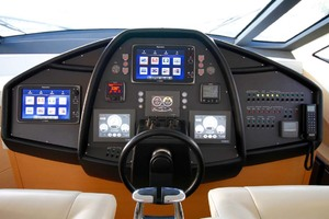 72' Pershing  2008 Helm Electronics