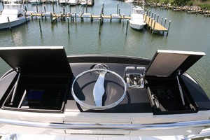 62' Titan Convertible 2019 30 Tower Helm Station