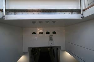 62' Titan Convertible 2019 43 Engine Room