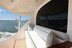 62' Titan Convertible 2019 31 Cockpit Mezzanine Port