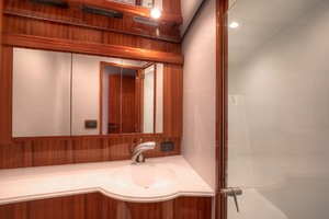 62' Titan Convertible 2019 13 Master Head And Shower