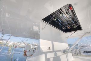62' Titan Convertible 2019 22b Bridge Overhead Rod Storage