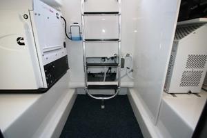 62' Titan Convertible 2019 40 Engine Room  Access
