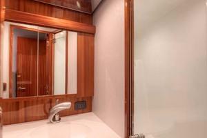 62' Titan Convertible 2019 15 Master Shower