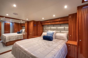62' Titan Convertible 2019 11 Master Stateroom