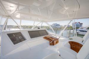 62' Titan Convertible 2019 24 Bridge Helm