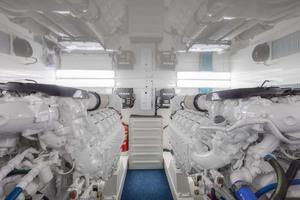 62' Titan Convertible 2019 41 Engine Room