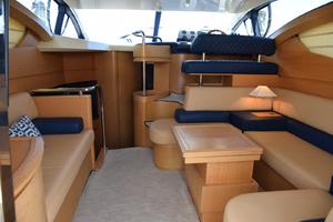 43' Azimut Flybridge Motor Yacht 2007 Main Cabin