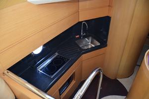 43' Azimut Flybridge Motor Yacht 2007 Galley from above