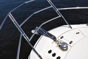 43' Azimut Flybridge Motor Yacht 2007 Windlass and Anchor Chute