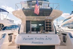 67' Ferretti Yachts 670 2019 AftSwimPlatform