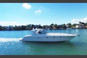 55' Sea Ray Sundancer 2004 Stbd. View